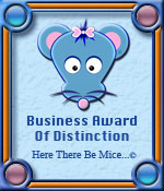 Here There Be Mice...© Business Award Of Distinction Award Graphic